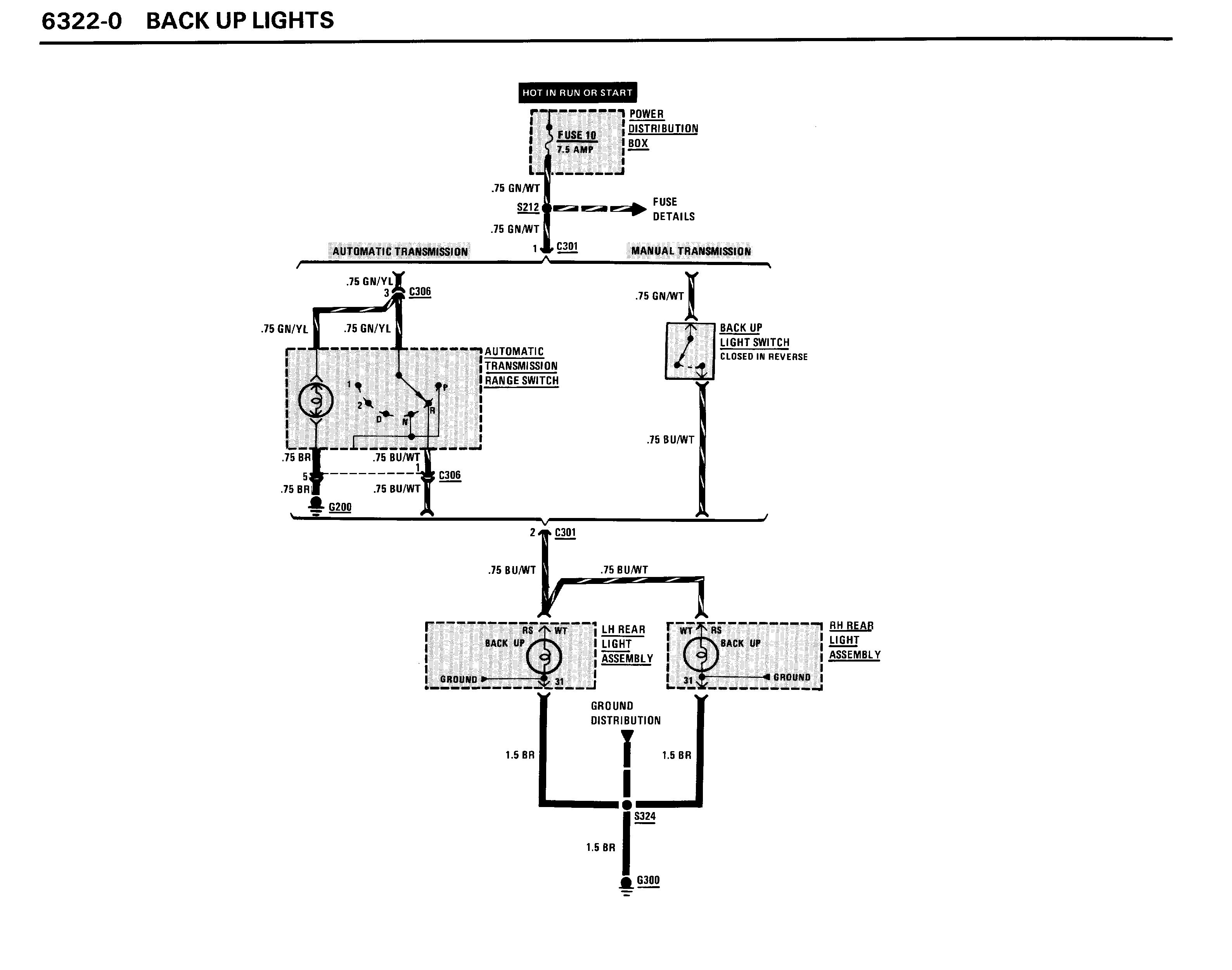 bmw reverse light wiring diagram daily update wiring diagram BMW 325I Plug Wiring Diagram