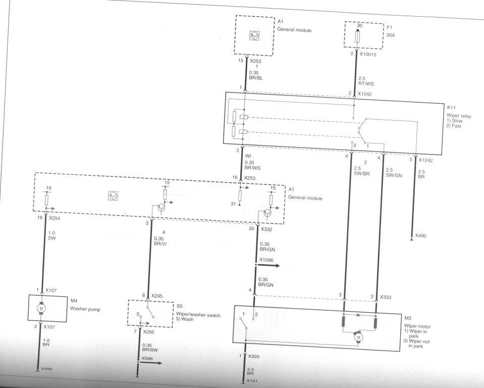 asc bmw e39 wiring diagram windshield wipers - bmw forum - bimmerwerkz.com e39 wipers diagram #4
