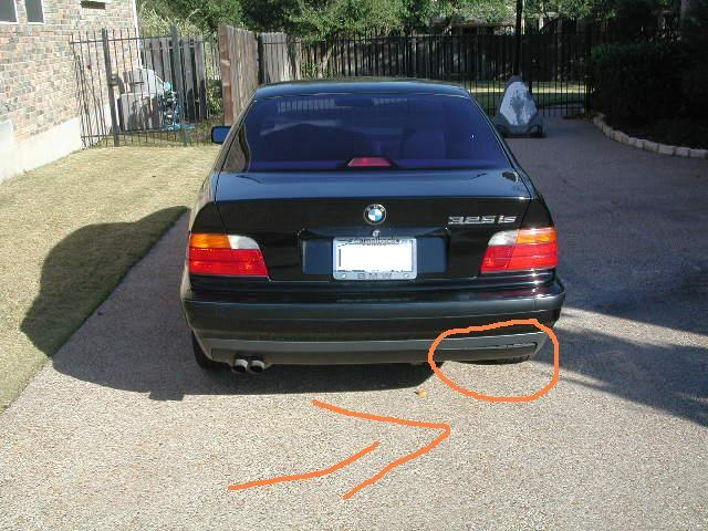 325is Rear Bumper Problem Bmw Forum Bimmerwerkz Com
