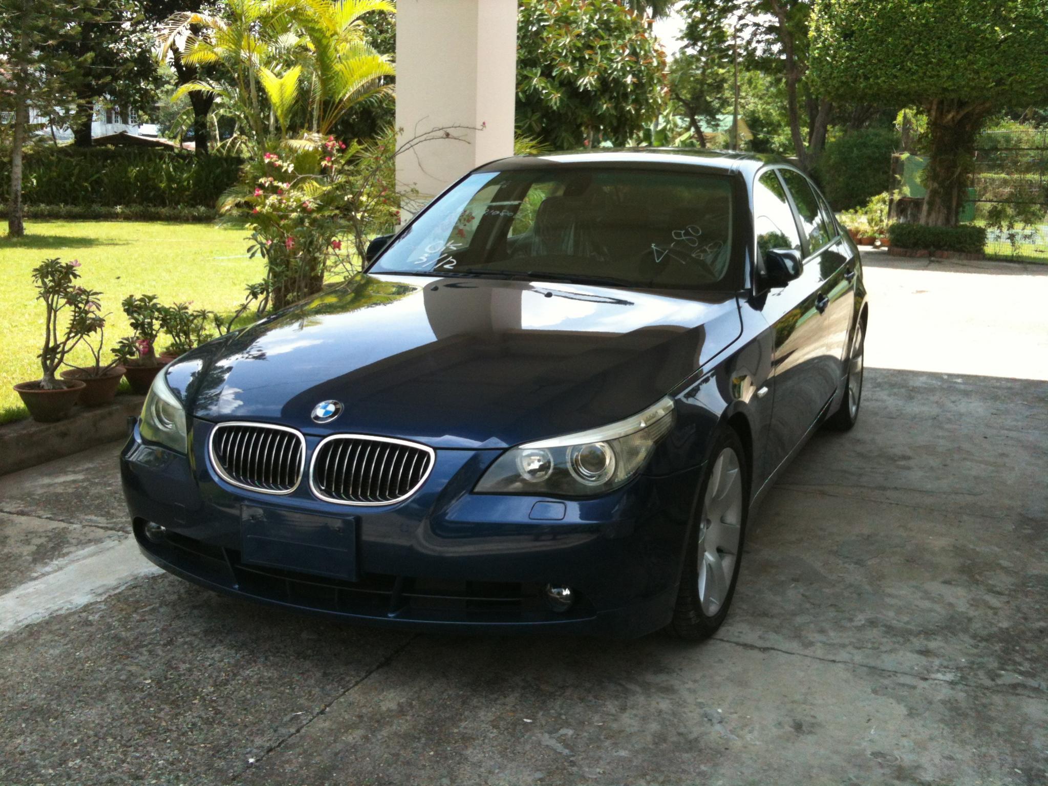 My Mystic Blue BMW 545i Year 2004 - BMW Forum - BimmerWerkz.com