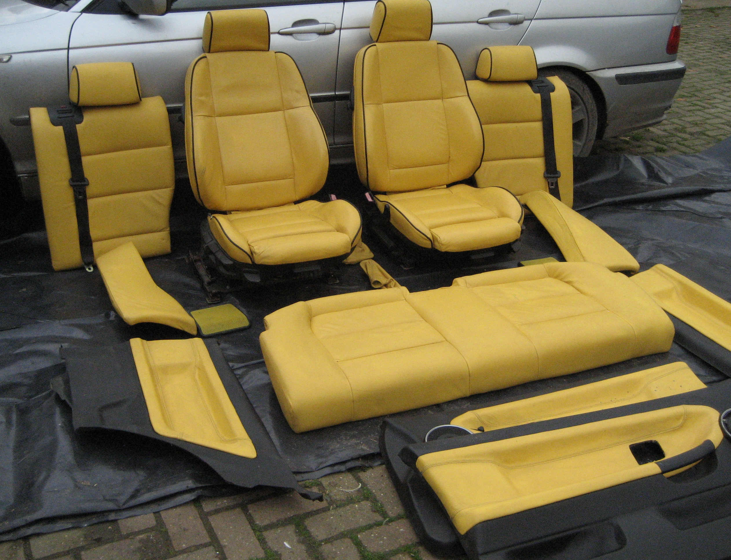 E36 Coupe Full Leather Yellow Interior Fs In Uk Midlands Bmw Forum