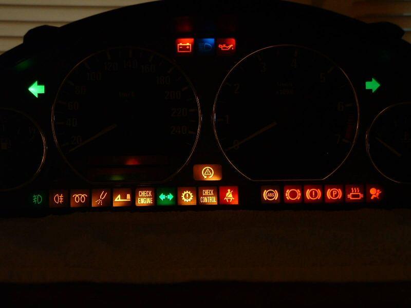 cruise control light/dash indicator? - BMW M3 Forum com (E30