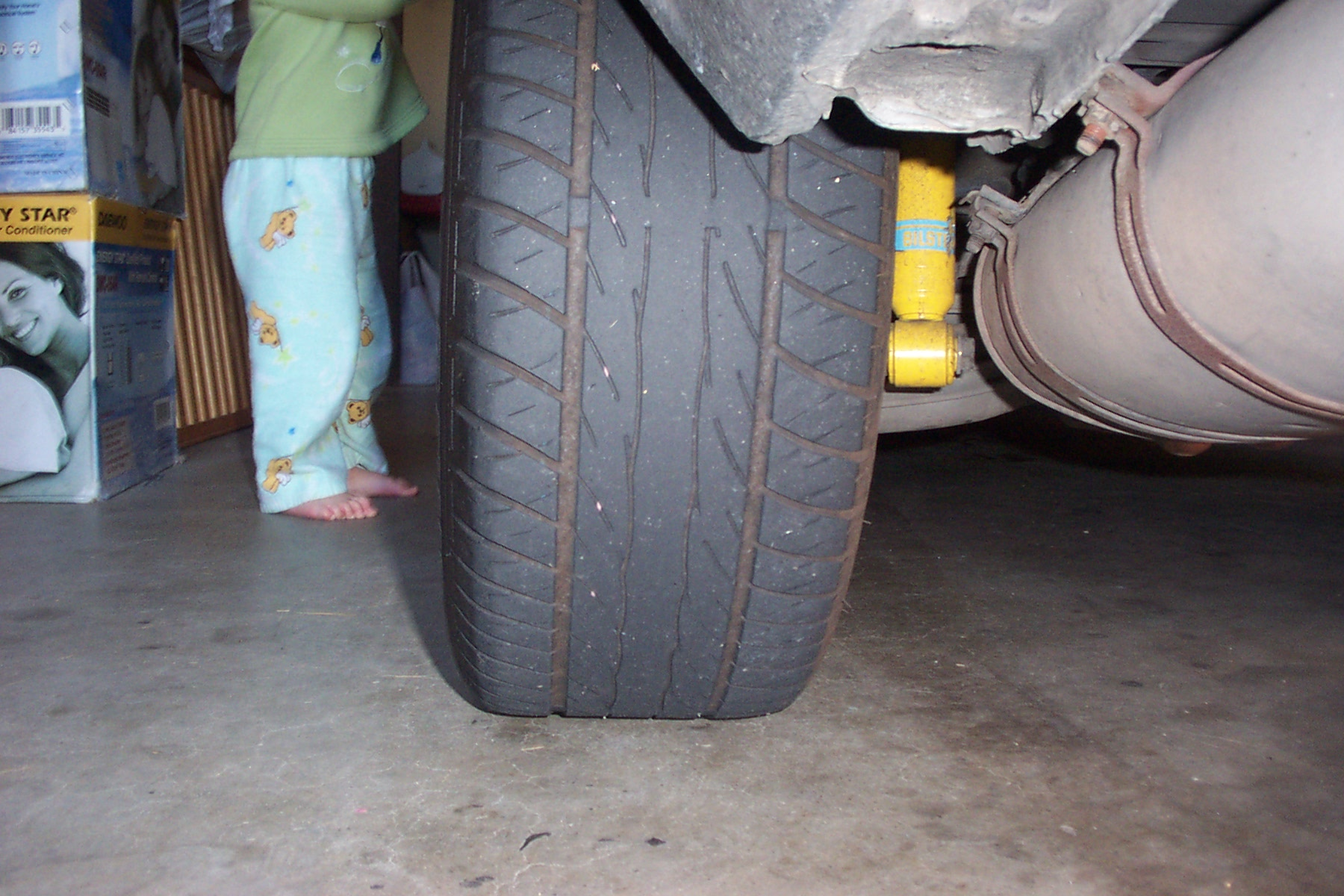 how to fix uneven tire wear