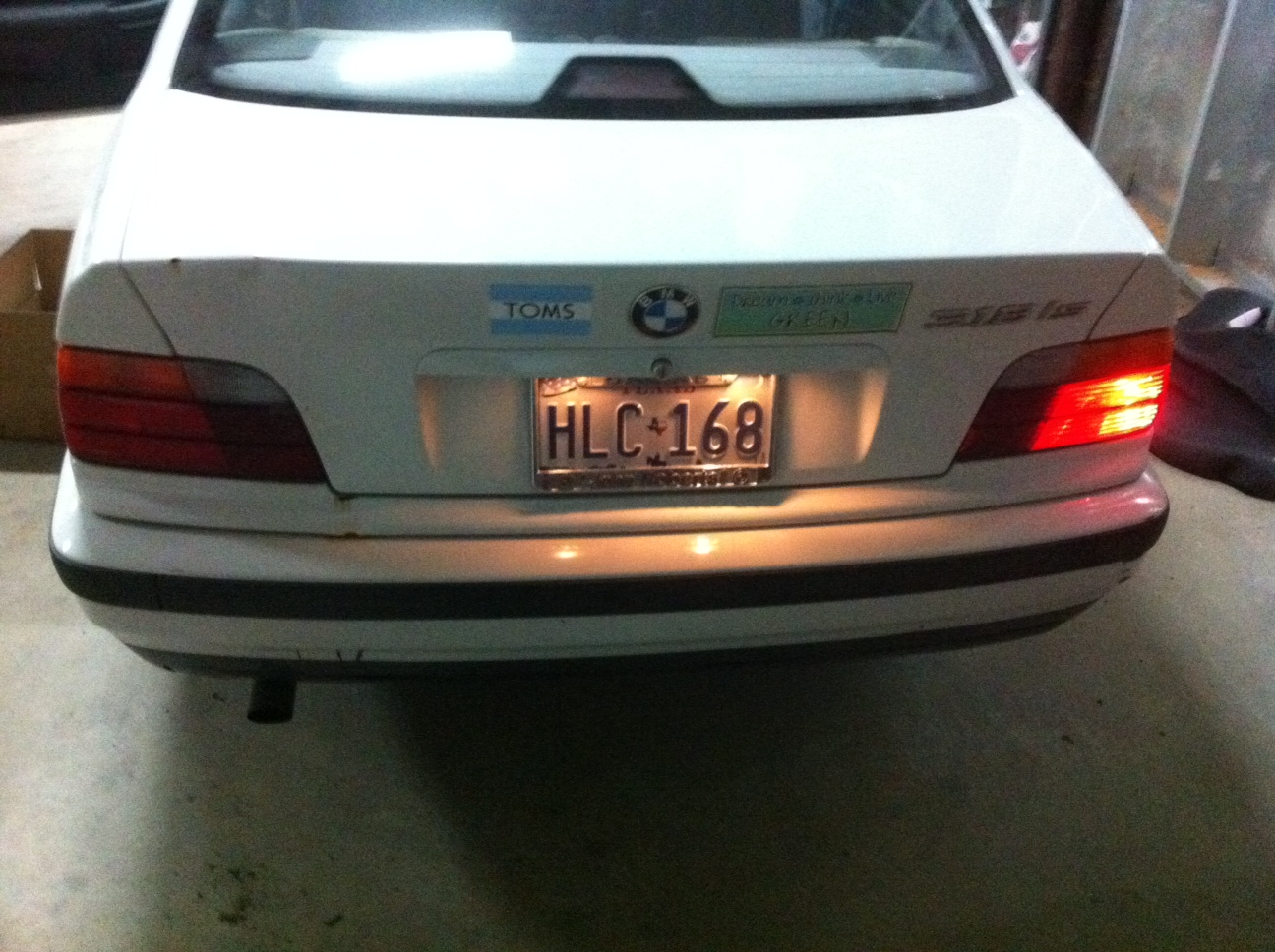 D Bmw Is Tail Light Not Photo on 2003 Bmw 325i Tail Lights