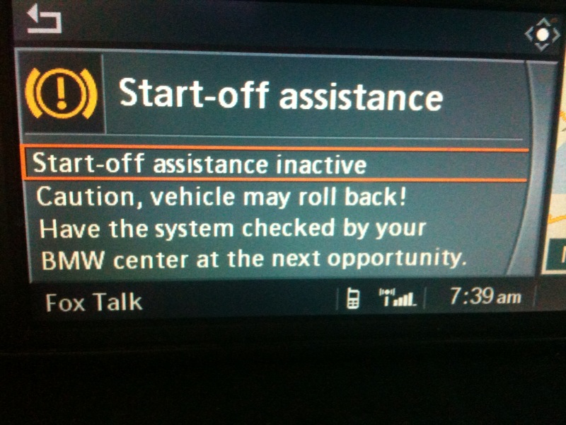 E60 - Malfunction messages but no fault codes? - BMW Forum