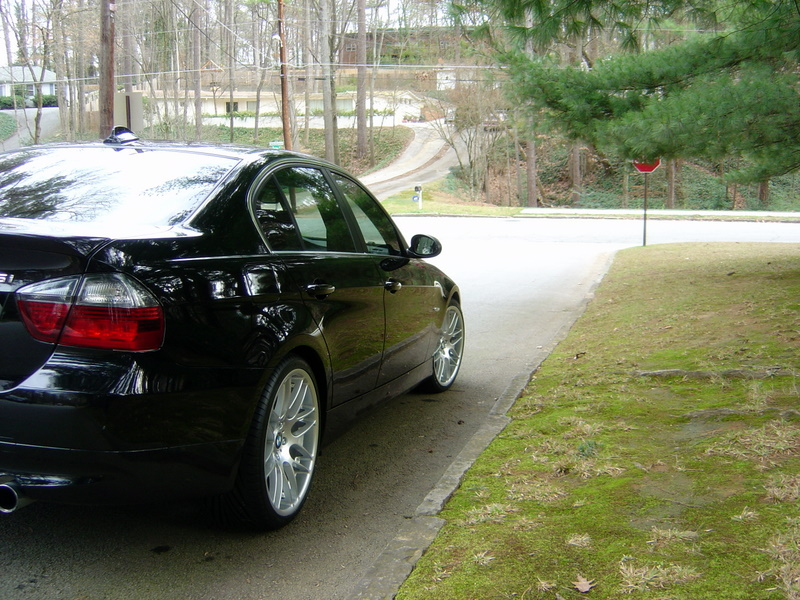 WTS: 335i 2007, 41000 miles, black w/ terracotta leather, great condition, (in GA)-right-rear-shot.jpg