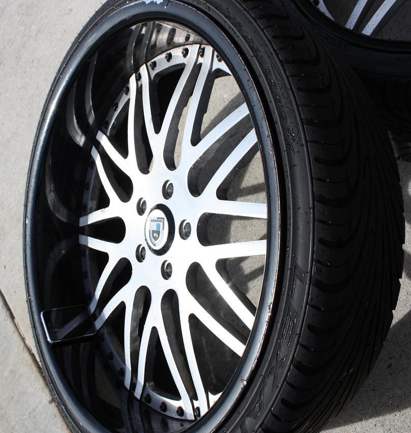"""FS:>>>>>> 22"""" Asanti AF 120 Wheels"""